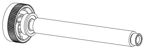 Datamax-O'Neil - Druckwalze - für M-Class M-4206, M-4208, M-4210
