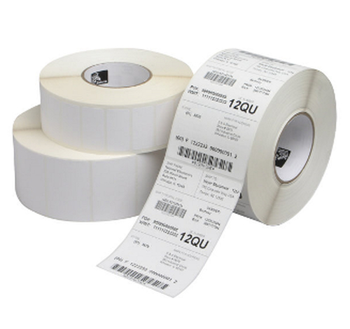 Zebra Z-Perform 1000D - Papier - matt - permanenter Acrylklebstoff - weiß - 57 x 32 mm 2060 Etikett(en) (1 Rolle(n) x 2060) Etiketten