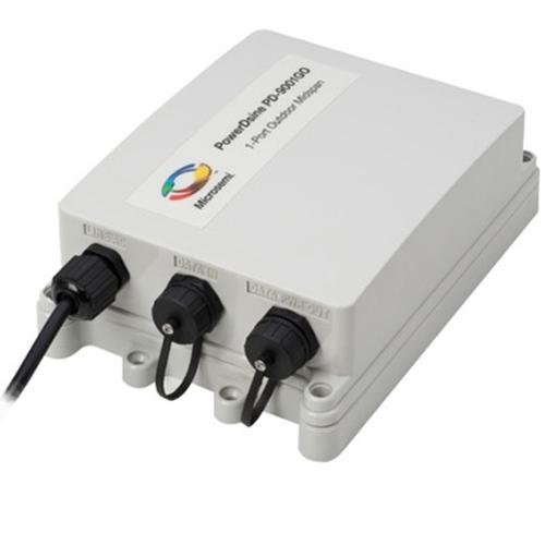 HPE Aruba PD-9001GO-INTL - Power Injector - 30 Watt - Ausgangsanschlüsse: 1 - für HPE Aruba AP-228, AP-274, AP-275, AP-277; AirMesh MST2HAC, MST2HP