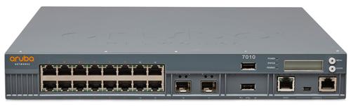 HPE Aruba 7010 (RW) Controller - Netzwerk-Verwaltungsgerät - 16 Anschlüsse - GigE - 1U - Rack-montierbar