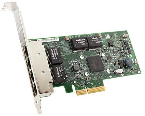 Lenovo ThinkSystem NetXtreme By Broadcom - Netzwerkadapter - PCIe 2.0 x4 Low-Profile - Gigabit Ethernet x 4 - für ThinkAgile VX3575-G Integrated System; VX5575 Integrated System; VX7576 Certified Node