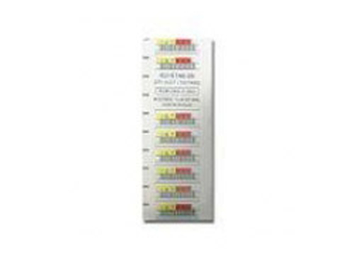 Quantum LTO-5 Barcode Labels series 000001-000100 - Strichcodeetiketten (Packung mit 100)