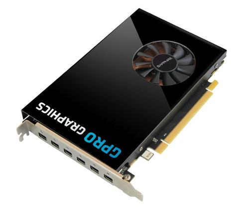SAPPHIRE GPRO E8870 4G GDDR5 PCIE HEXAD