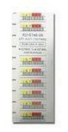 Quantum LTO-4 Barcode Labels 000001-000100 - Strichcodeetiketten (Packung mit 100)