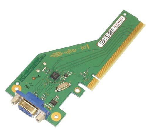 Fujitsu - Zusätzliche Schnittstellenplatine - PCIe x4 - VGA - für Celsius W580; ESPRIMO D538, D538/E94, D738, D738/E94, D958, D958/E94, P558
