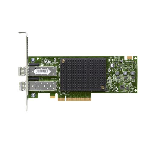 HPE StoreFabric SN1600E - Hostbus-Adapter - PCIe 3.0 x8 - 32Gb Fibre Channel x 2 - für ProLiant DL345 Gen10, DL360 Gen10, DL365 Gen10, XL290n Gen10