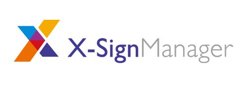 X-Sign Manager Basic - Abonnement-Lizenz (1 Jahr) - Win