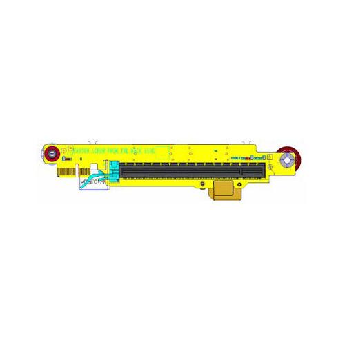 HPE Slot1 x16 Adder for Slot2/3 Riser Kit - Riser Card - für ProLiant DL380 Gen10 Plus Networking Choice, DL385 Gen10 Plus, DL385 Gen10 Plus Entry