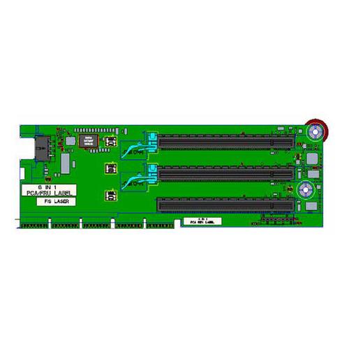 HPE x8/x16/x8 Riser Kit - Riser Card - für ProLiant DL380 Gen10 Plus Network Choice, DL385 Gen10 Plus, DL385 Gen10 Plus Entry