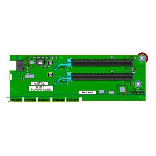 HPE x16/x16 Slot 1/2 Secondary Riser Kit - Riser Card - für ProLiant DL385 Gen10 Plus, DL385 Gen10 Plus Entry