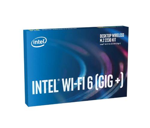 Intel Wi-Fi 6 AX200 - Desktop Kit - Netzwerkadapter - M.2 2230 - 802.11ac, 802.11ax (Wi-Fi 6), Bluetooth 5.1