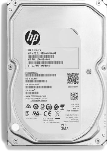 "HP Enterprise - Festplatte - 2 TB - intern - 3.5"" (8.9 cm) - SATA"