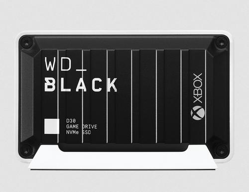 WD_BLACK D30 for Xbox WDBAMF0020BBW - Solid-State-Disk - 2 TB - extern (tragbar) - USB 3.0 (USB-C Steckverbinder) - Schwarz