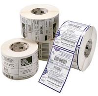 Zebra Z-Perform 1000D - Papier - selbstklebend - unbeschichtet - 40 x 21 mm 3200 Etikett(en) (1 Rolle(n) x 3200) Sticker
