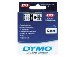 DYMO D1 - Selbstklebend - Schwarz auf Weiß - Rolle (1,2 cm x 7 m) 1 Rolle(n) Etikettenband - für LabelMANAGER 160, 210D, 210D Kit, 210D Kit Case, 280, 360D, 420P, 420P Kit, 500TS, PnP