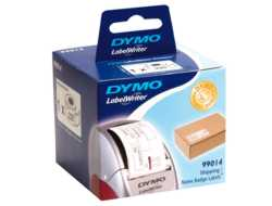 DYMO LabelWriter Shipping - Shipping/name badge labels - adhesive - weiß - 54 x 101 mm 220 Etikett(en) (1 Rolle(n) x 220) - für DYMO LabelWriter 320, 330, 330 Turbo, 400, 400 Duo, 400 Turbo, 4