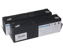 ONLINE Ersatzbatterie fuer ZINTO A 2000