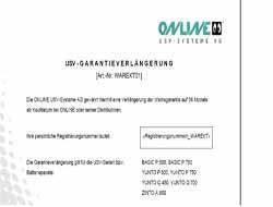Online-USV - Serviceerweiterung - Erweiterter Teileaustausch - 3 Jahre - Lieferung - 24x7