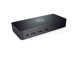 Dell D3100 - Docking Station - (USB) - GigE - EU - für Inspiron 15 75XX, 17 77XX, 5559, 5759, 7559; Latitude E5270, E5570; Vostro 5459; XPS 9250