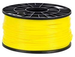 NuNus - ABS FILAMENT YELLOW 3MM