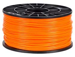 NuNus - ABS FILAMENT ORANGE 3MM