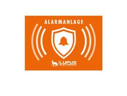 LUPUS Electronics - LUPUS STICKER - ALARM