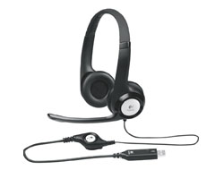 Logitech USB Headset H390 - Headset - Full-Size