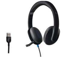 Logitech USB Headset H540 - Headset - On-Ear