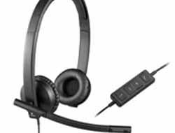Logitech USB Headset H570e - Headset - On-Ear