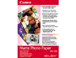 Canon MP-101 - Matt - A4 (210 x 297 mm) 50 Blatt Fotopapier - für PIXMA iP90, iX7000, MG8250, MP490, MP510, MP550, MP560, MP960, MX330, PRO-1, PRO-10, 100