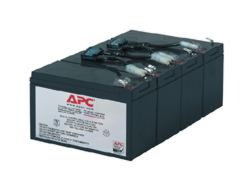 APC Replacement Battery Cartridge #8 - USV-Akku Bleisäure - Schwarz - für P/N: SU1400RM, SU1400RMBX120, SU1400RMNET, SU1400RMX176