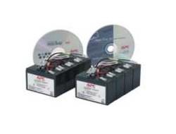 APC Replacement Battery Cartridge #12 - USV-Akku - 2 x Bleisäure - Schwarz - für P/N: DL5000RMT5U, SU5000R5TBX114, SU5000R5TBXFMR, SU5000R5T-TF3, SU5000R5XLT-TF3