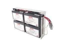 APC Replacement Battery Cartridge #23 - USV-Akku Bleisäure - Schwarz - für P/N: SUA1000R2ICH, SUA1000RMI2U(P), SUA1000RMI2U-3EW, SUA1000RMI2U-3XW, SUA1000RMI2U-5XW