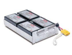 APC Replacement Battery Cartridge #24 - USV-Akku Bleisäure - Schwarz - für P/N: DLA1500RM2U, DLA1500RMI2U, SU1400R2IBX135, SUA1500R2X122, SUA1500R2X180, SUA1500R2X93