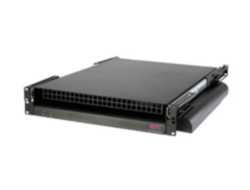 APC Rack Side Air Distribution 208/230V 50/60HZ - Lüftungseinheit - Schwarz - 2U - für P/N: AR3100, AR3150