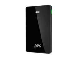 APC Mobile Power Pack - Ladegerät Li-Pol 10000 mAh - 2.4 A - 2 Ausgabeanschlussstellen (USB (nur Strom)) - Schwarz