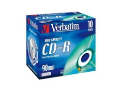 Verbatim DataLife - 10 x CD-R - 800 MB (90min) - Jewel Case (Schachtel)