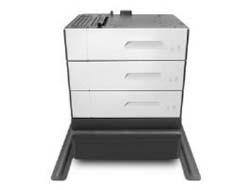 HP Paper Feeder and Stand - Medienfach / Zuführung - 500 Blätter in 3 Schubladen (Trays) - für PageWide Enterprise Color MFP 586; PageWide Managed Color E55650