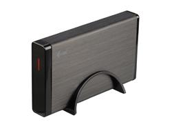 i-Tec MySafe Advance - Speichergehäuse mit Netzanzeige, Ein/Aus-Schalter - 8.9 cm (3.5