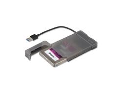 i-Tec MySafe Advance - Speichergehäuse - 6.4 cm (2.5