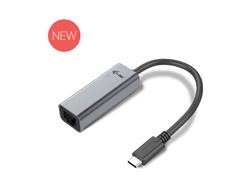 i-Tec USB-C Metal Gigabit Ethernet Adapter - Netzwerkadapter - USB-C 3.1 / Thunderbolt 3 - Gigabit Ethernet x 1 - Space-grau