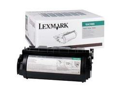 Toner Lexmark T630            black 12A7460