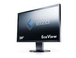 EIZO FlexScan EV2416WFS3-GY - LED-Monitor - 61 cm ( 24