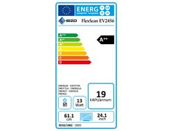 EIZO FlexScan EV2456-WT - LED-Monitor - 61.1 cm (24.1