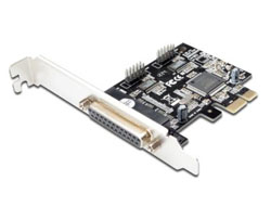 DIGITUS DS-30040-2 - Adapter Parallel/Seriell - PCIe - parallel, Seriell