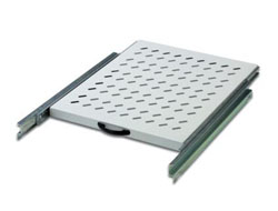 Digitus DN-19 TRAY-2-800 - Rack - Regal - RAL 7035 - 48.3 cm (19