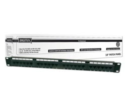 DIGITUS Professional - Patch Panel - RJ-45 X 24 - 1U