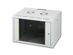 DIGITUS SoHoline DN-19 07-U - Mount cabinet - wall mountable - Grau, RAL 7035 - 7U - 48.3 cm (19