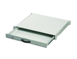 Digitus DN-19 KEY-1U - Tastatureinschub - Hellgrau, RAL 7035 - 1U - 48.3 cm ( 19