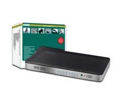 DIGITUS HDMI Matrix Switch DS-48300 4 x 2 - Video/Audio-Schalter - Desktop